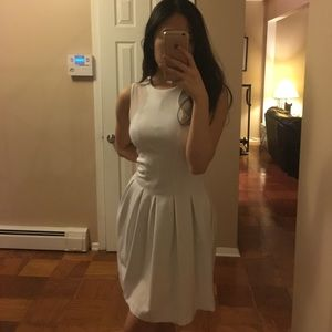 Sweet and Classy White Dress